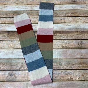 GAP Wool Multi Color Stripe Scarf